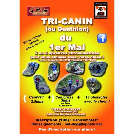 Tri-canin et duathlon canin du 1er mai