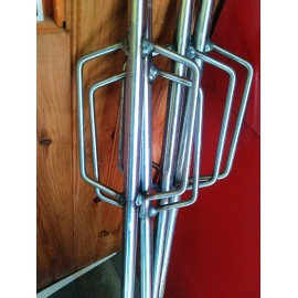 Piquets de stake out 1m inox d'occasion